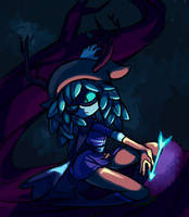 Huntress Wizard by komoriArts