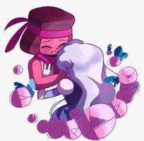 Garnet lovers by komoriArts
