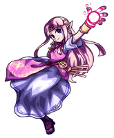 Princess Zelda by komoriArts