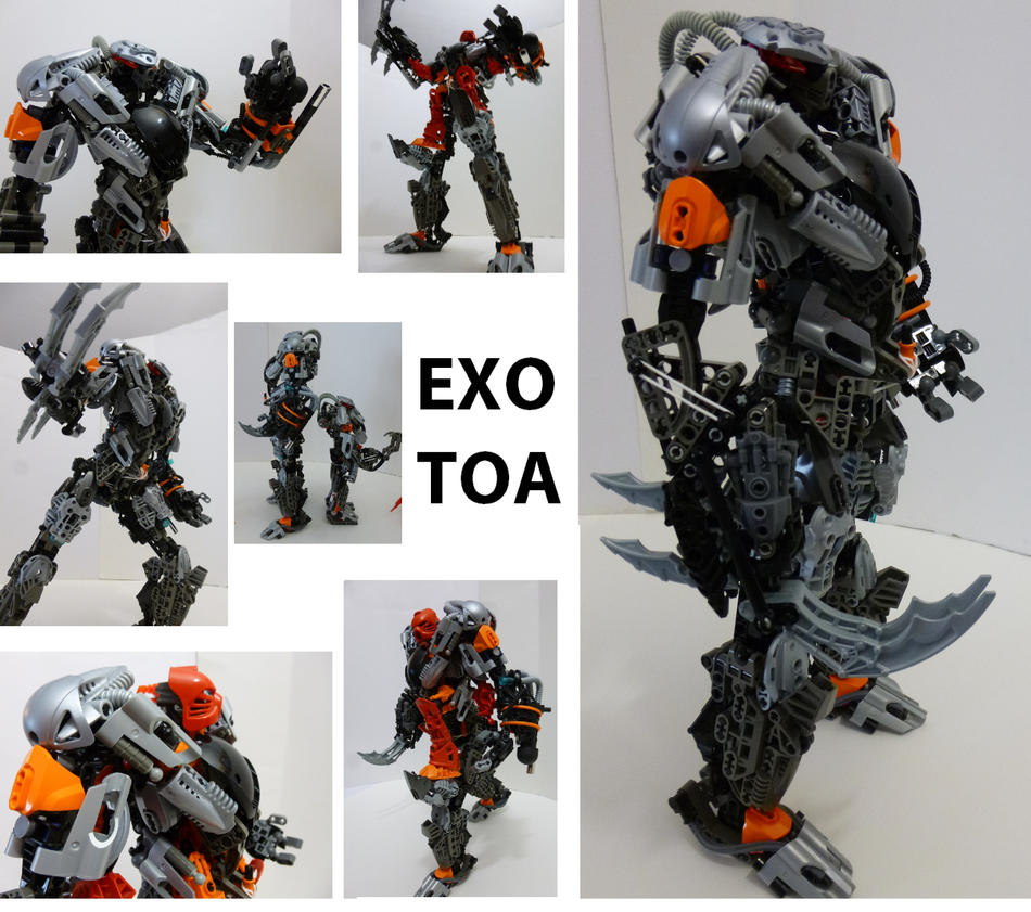 exo toa revamp with building instructions by teridax467 on deviantart rh deviantart com