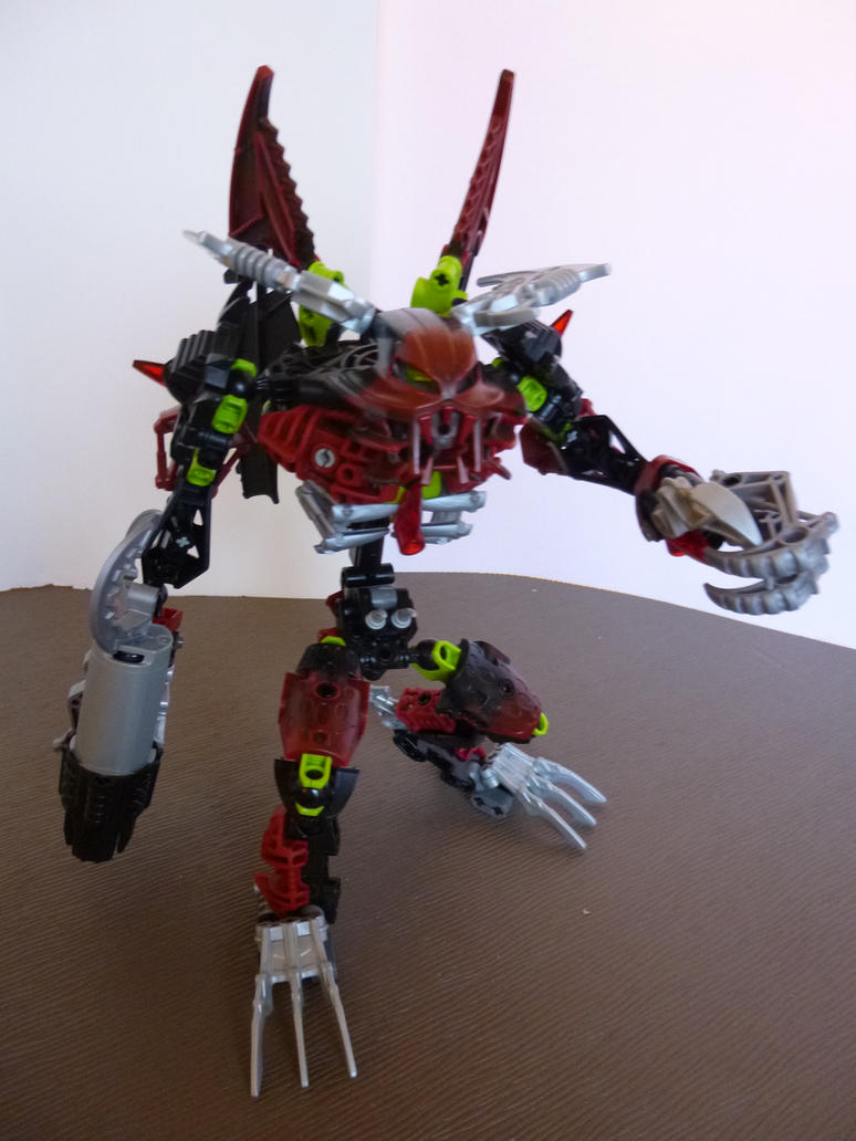 bionicle how to build makuta