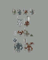 Pixel Characters by ObinSun