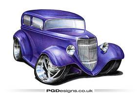 1934 Sedan hotrod