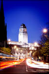Leeds Uni - by night