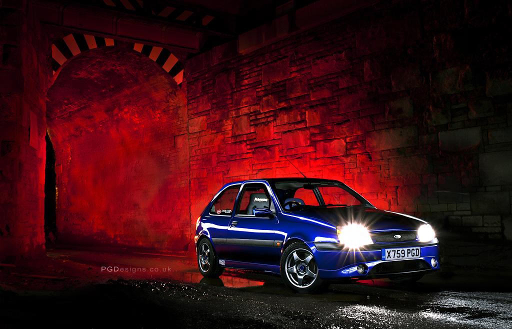 Lightpainted Fiesta by PGDsx