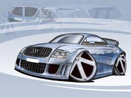 Audi TT Caricature by PGDsx