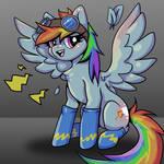 A splash of rainbow (dash)