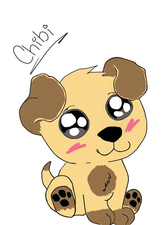 Chibi Puppy By Lauren Welch by deathrap1495 on DeviantArt