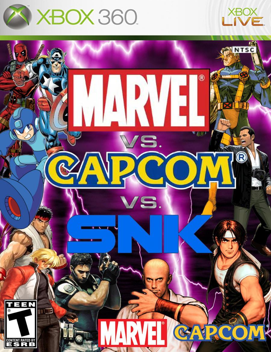 Marvel Vs. Capcom deviantART