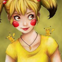 Misty as Pikachu Version 2 by NaruHina2010