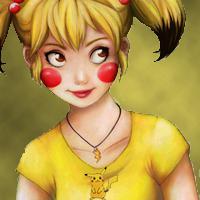 Misty as Pikachu Version 1 by NaruHina2010