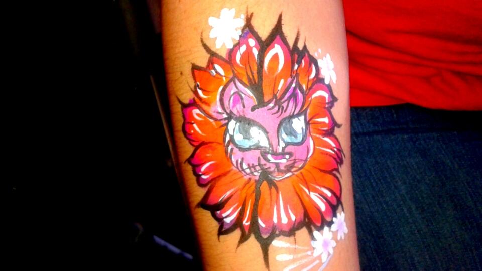 cat flower mane by ciphersilva
