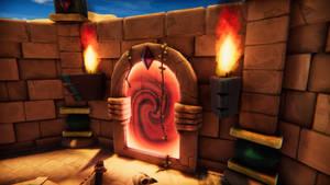 3D - Desert Arena - Portal