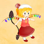 Happy Little Flandre by ferdyferdy9