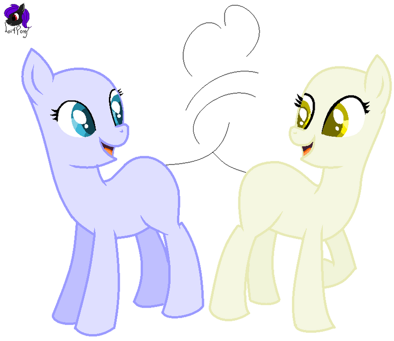 Base 12 -Two Mares Love By Li4Pony On DeviantArt