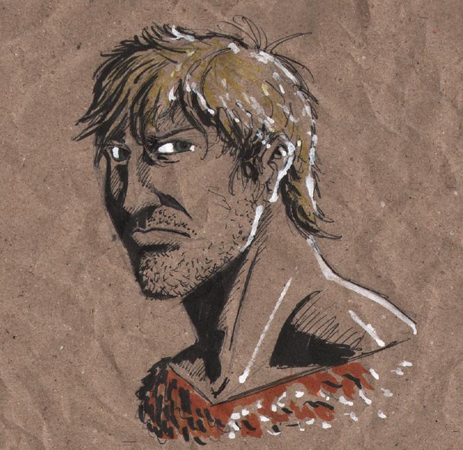 Aquaman sketch by tedwoodsart