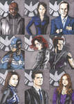 Marvel's Agents of SHIELD Sketch Cards