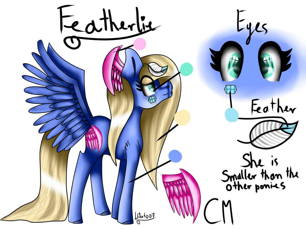 Featherlie OC [My OC] by Wika4007