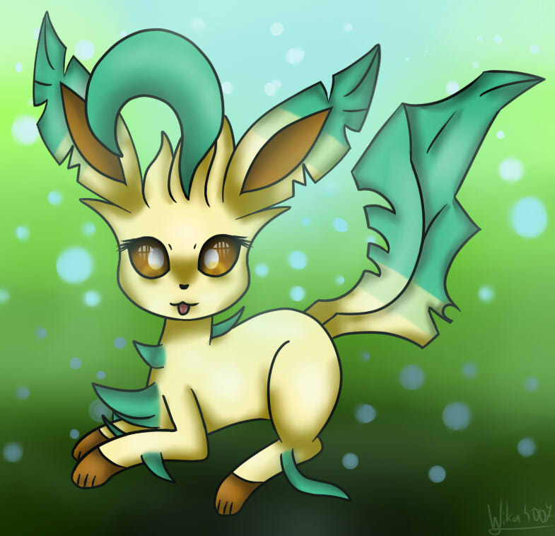 Leafeon by Wika4007