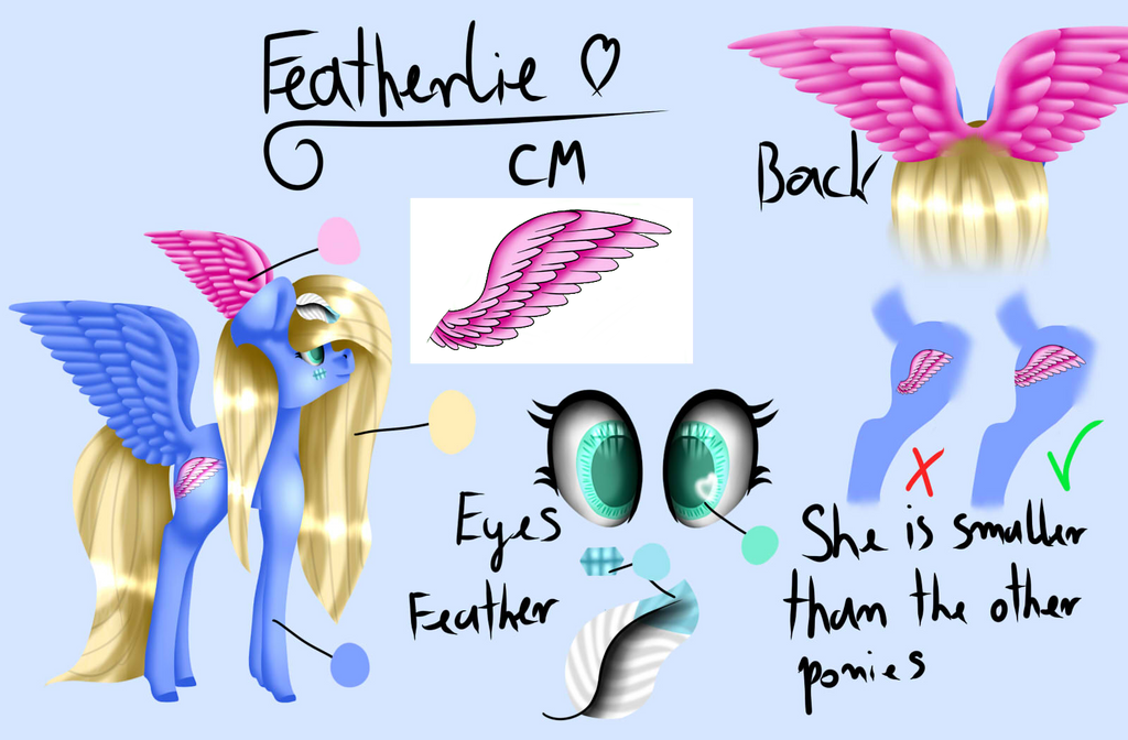 Featherlie OC  [upgrade] by Wika4007