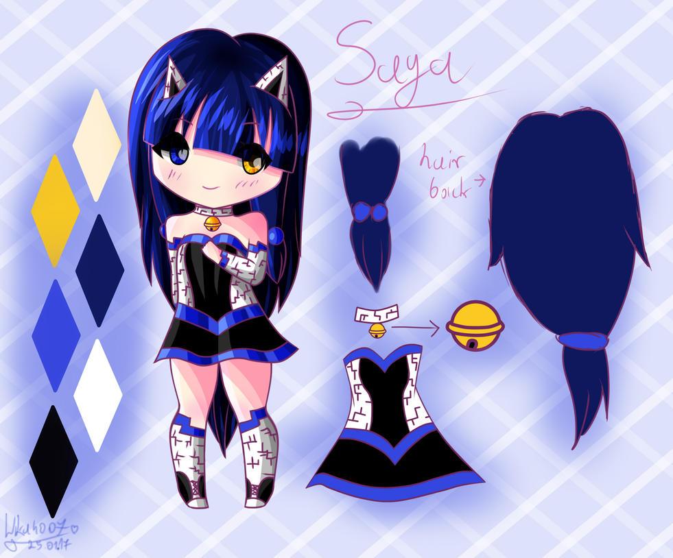 Saya~ My human OC :3 by Wika4007
