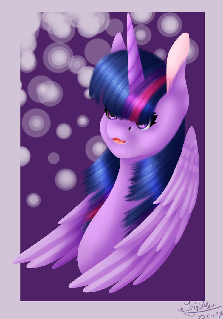 Twilight Sparkle by Wika4007