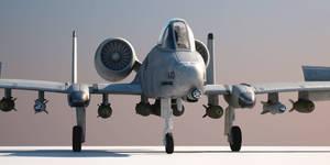 A-10 Thunderbolt by warag
