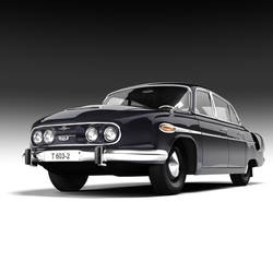 Tatra t-603 by warag