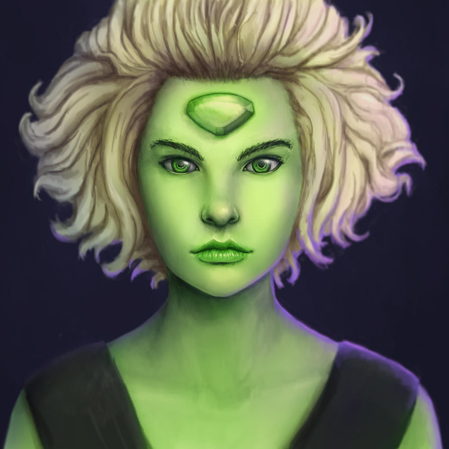 Peridot from Steven Universevideo process: youtu.be/KtjXI-ddslg