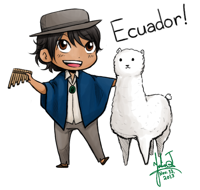 ECUADOR IS CANON by Ilovetodraw