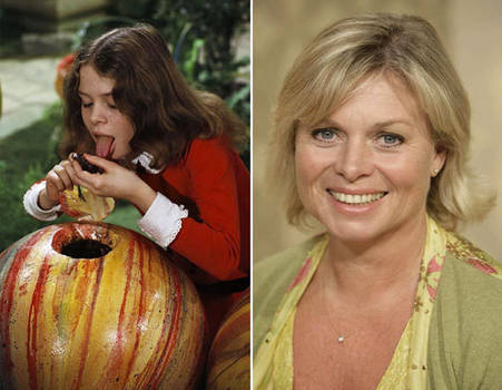 Julie Dawn Cole then and now (2)