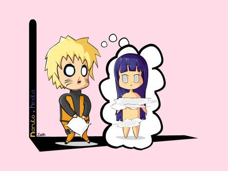Fanart: Chibi Naruto x Hinata