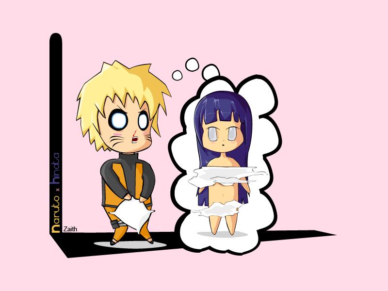 Fanart Chibi Naruto X Hinata By Zaithy On Deviantart