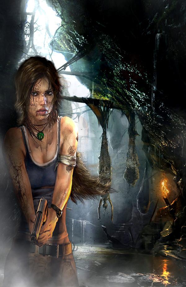 Lara croft reboot render by Sakurawhish