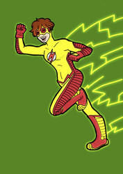 TT Char Ref: Kid Flash POWAH