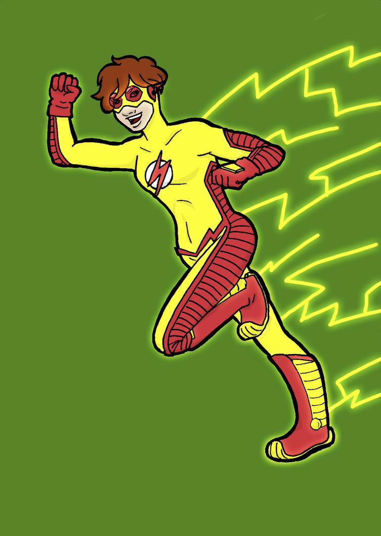 TT Char Ref: Kid Flash POWAH by YouveGotTaste