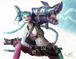 Jinx, the Loose Cannon,  from LOL