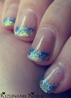 Mermaid Gel Nails by KizunaniiNails