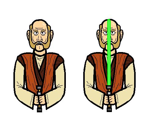 Jedi Master by YpodkaaaY