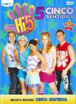 Cover 'Hi-5: Cinco Sentidos DVD with original cast