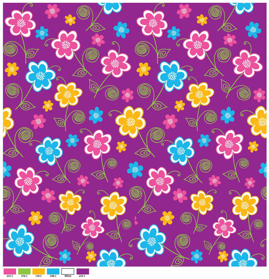 flower print 7 by doncabanza