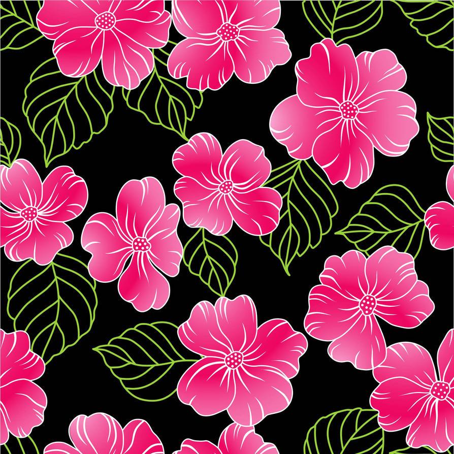 Seamless Flower Print 17 By DonCabanza On DeviantArt