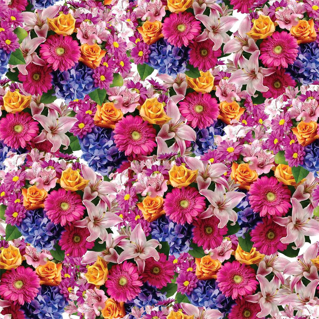 Seamless Flower Print 23