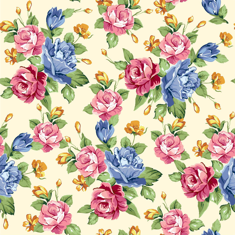 Seamless Floral Print 25 By DonCabanza On DeviantArt