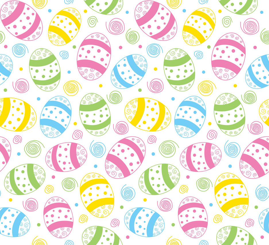 Easter Spring Seamless Print Pattern 3 By Doncabanza On Deviantart
