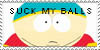 Cartman Stamp by stampcollectr