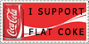 Flat coke stamp by stampcollectr