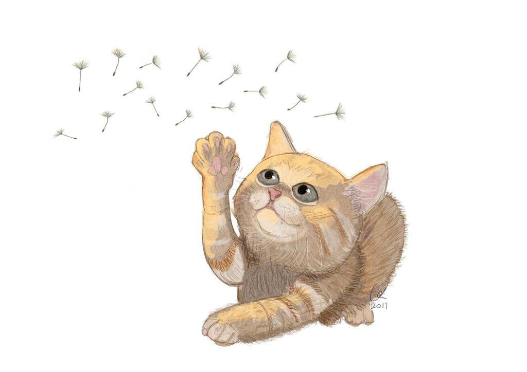 Meow by artofgx
