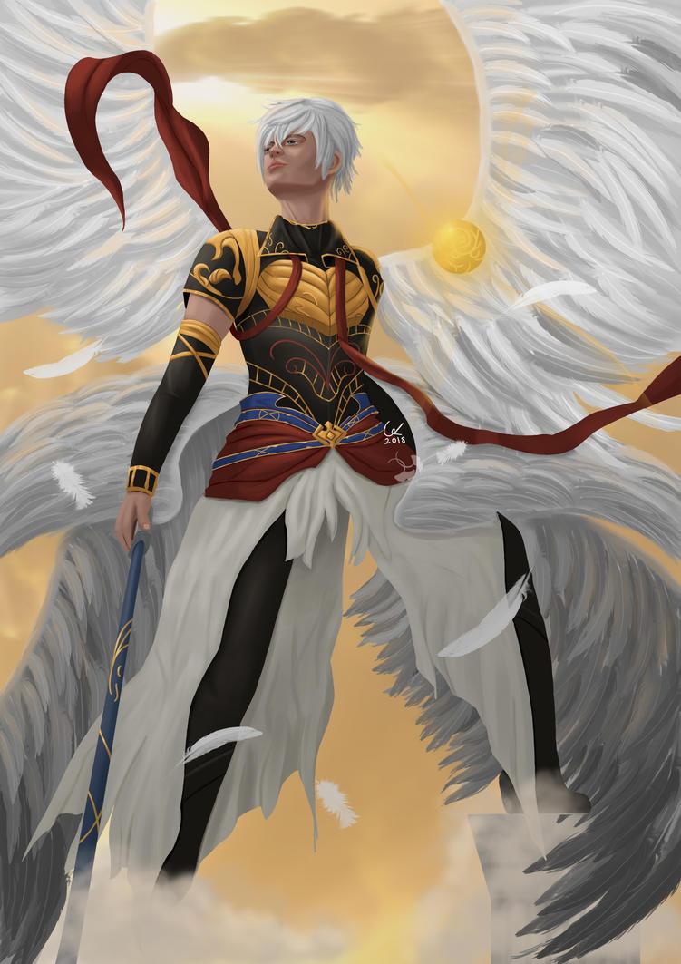 Granblue Fantasy Lucifer by artofgx