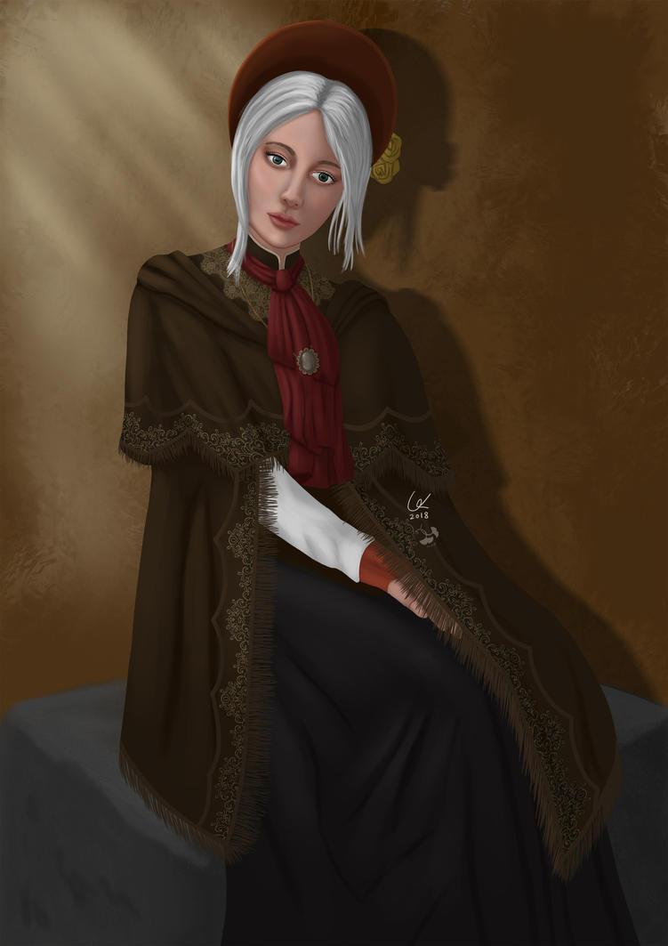 Bloodborne plain doll. by artofgx